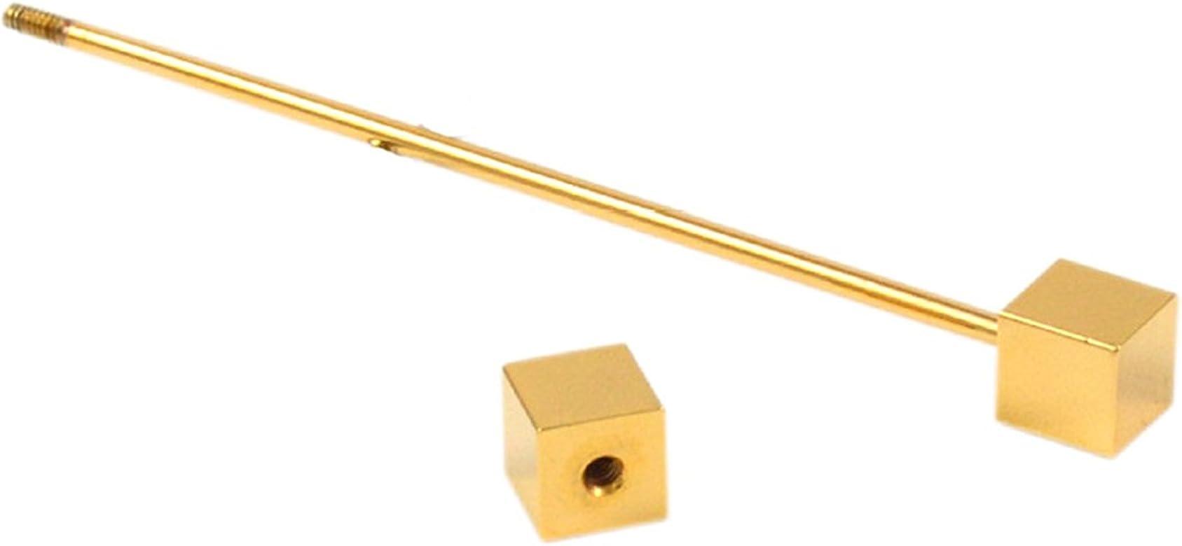 Epinki Hombre Oro Cubo Collar Pin Bar Pin Camisa Corbata Pin ...