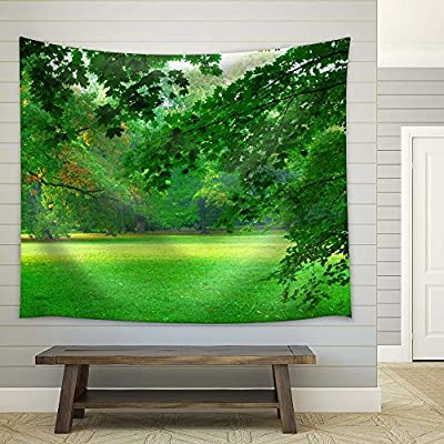 Delightful Handicraft, Beautiful View of Green Trees and Grass, That's 100% USA Made