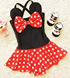 EGELEXY Baby Kid Girl Swimsuits Bathing Polka Dots