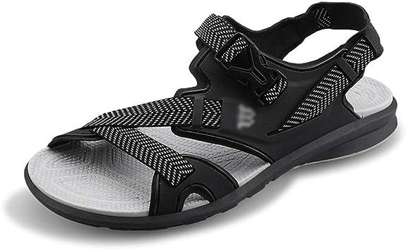 EGS Shoes Sandales d'été pour Hommes Pantoufles de Plage en