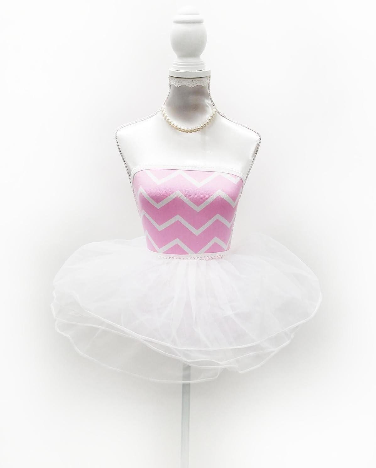 Fabric Dress Form Chevron Print