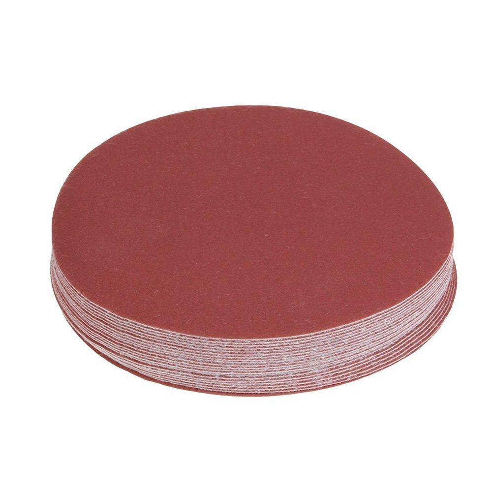 Ounona Lot de 20 disques abrasifs autocollants 150/mm Grain 320