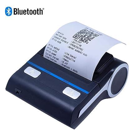 DAETNG Impresora térmica Recibos Bluetooth 4.0 de 3.14 Pulgadas ...