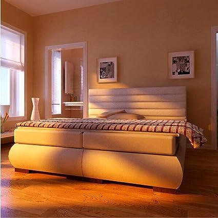 Cama con somier Melany 120 x 200 colchones de muelles ...