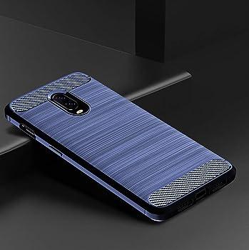 Funda OnePlus 6T Carcasa Silicona Suave Ultra-Delgado Anti-Choque Anti-arañazos Disipacion de Calor Diseño Proteccion Fundas para Smartphone One Plus 6T 6.41