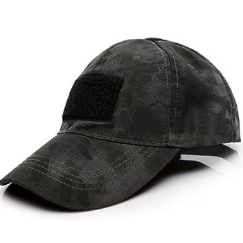 Gorras de operador táctico de las fuerzas militares especiales con bandera americana sombrero de decoración unisex gorra de béisbol Tamaño libre Black ...