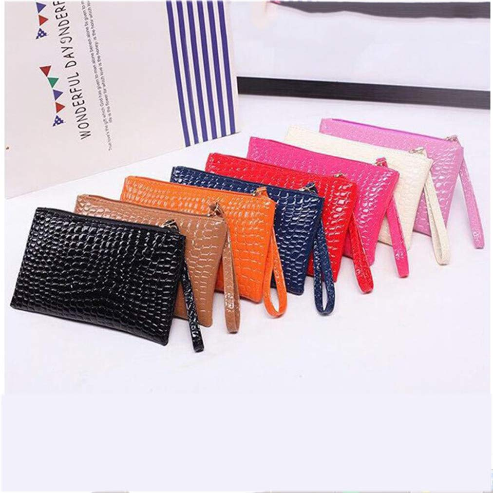 Sevenfly Classic Coin Purse Clutch Bag Mini Wallet Key Holder Card Package for Women