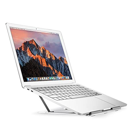 Nllano Portatil Laptop Stand de aluminio con 6 angulos ajustables diseño para 10-15.6in