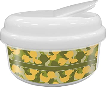 Rubber Duckie Camo Snack Container (Personalized)