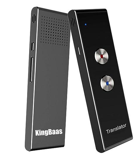 Amazon.com: Dispositivo de Traductor de Voz Inteligente ...