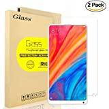 [2-Pack] Xiaomi Mi Mix 2S Screen Protector, AOLANDER [HD Clear] [Easy Installation] [Anti-Fingerprint] [Bubble Free] 9H Hardness Tempered Glass Screen Protector for Xiaomi Mi Mix 2S