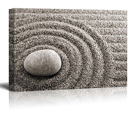 Rock Over a Rippled Sand Effect