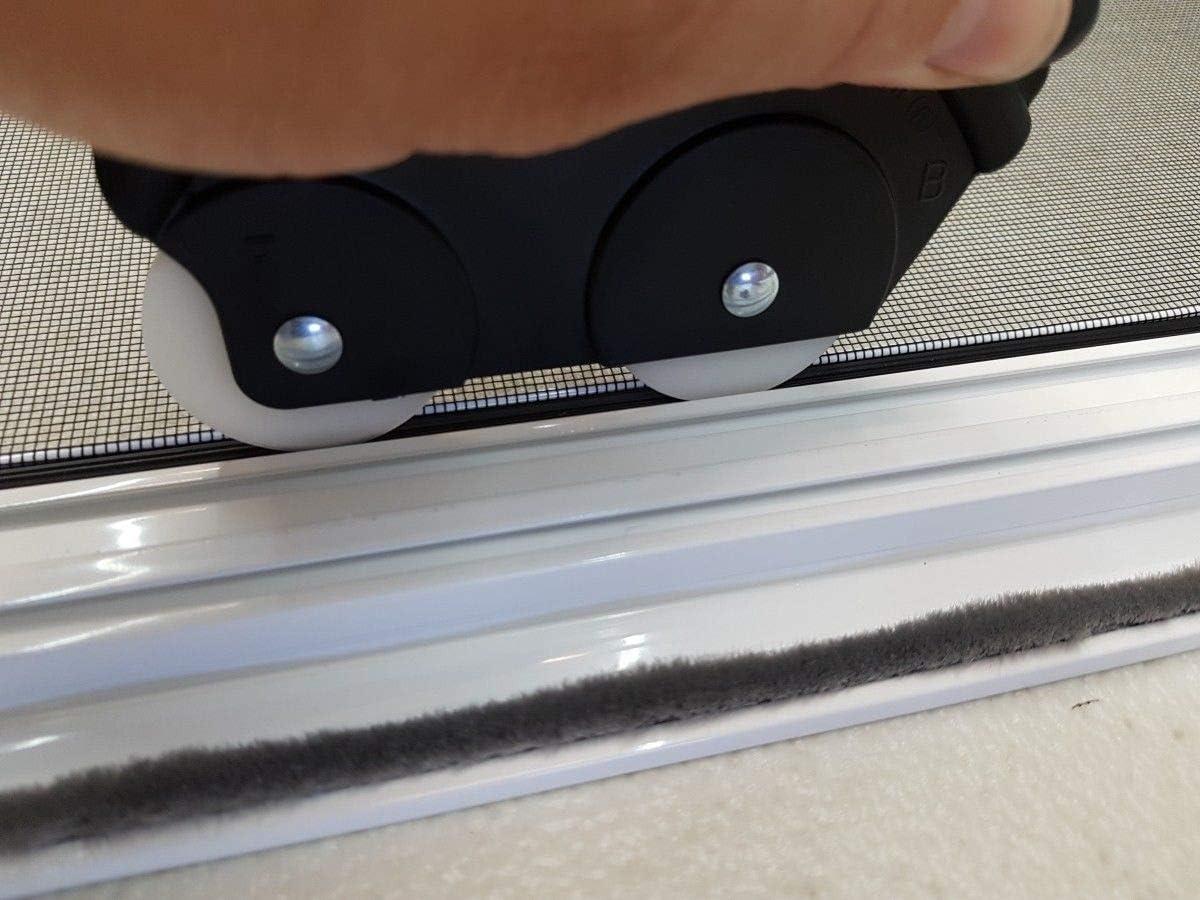 Einziehhilfen Einzieher f/ür Keder PVC Gummischnur Kedergummi Einroller Kederschnur f/ür Spannrahmen Fenster und T/üren Keder Maus