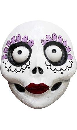 GHOULISH Máscara Catrina del Día de los Muertos Divertida
