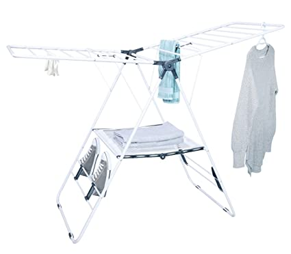 4698d5277 Amazon.com  Tidy Living - Deluxe Drying Rack - Laundry Clothes ...