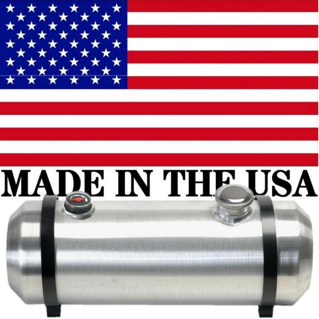 Rat Rod Sandrail Hot Rod Trike 3//8 NPT Outlet 10 Inches X 40 Spun Aluminum Gas Tank 13.5 Gallons With Sight Gauge For Dune Buggy