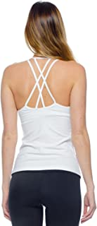 product image for Hard Tail Double Cross Tank Womens Active Yoga Tank
