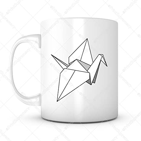 thousand cranes best wish gift mug ideas coffee mug for valentines day wedding