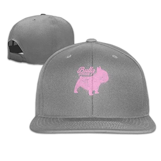 4e3c6367c7a90 Image Unavailable. Image not available for. Color  Melvin L Frenchie Mom  Dog Retro falt Hat Adjustable