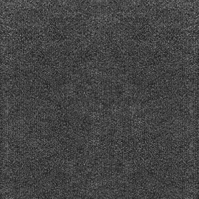 "Infinity Cord Ribbed Peel & Stick Carpet Tile Gunmetal 18"" x 18"" Premium(22.5 sq ft/ctn) - 1 Box"