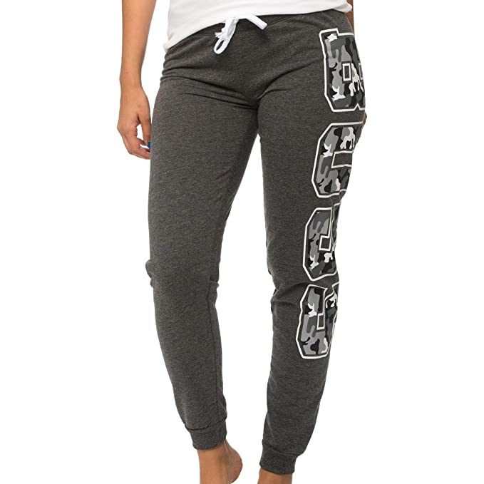 577ea479b1 Coco-Limon Long Fleece Jogger Pants for Women - Camouflage Boss Print -  Regular & Plus Sizes
