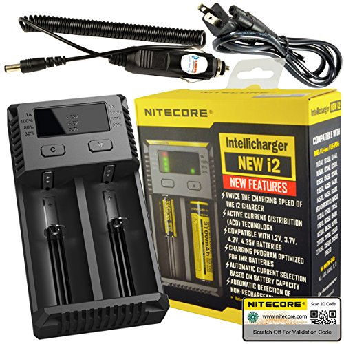 Nitecore Intellicharger Battery Charger LightJunction product image
