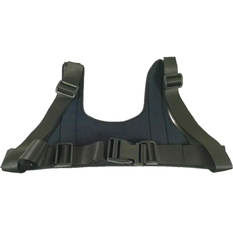 Prodotto Italiano. Fascia pettorale a corpetto Cintura di contenimento per disabili Cintura pettorale per carrozzina Fascia ortopedica per carrozzina per sedia comoda