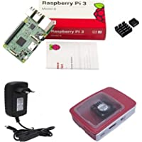 Kit Raspberry Pi 3 Pi3 - Case Official C/Cooler