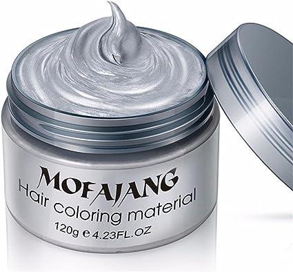 Gris Color de pelo de cera – Uno instantáneo tinte temporal ...