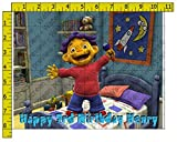 Sid the Science Kid Personalized Edible Frosting Image 1/4 sheet Cake Topper