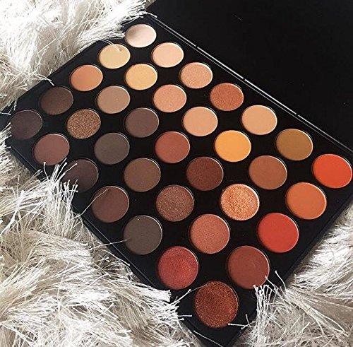 MORPHE Brushes 350-35 Color Nature Glow Eyeshadow Palette (Full Size)