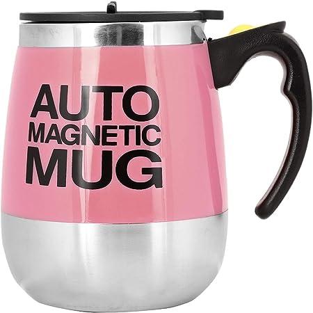 Fdit - Taza magnética de acero inoxidable, para café, té ...