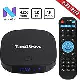 2018 Newest Leelbox Q2 mini Android 7.1 TV Box 2GB+8GB with BT 4.0 Supporting 4K (60Hz) Full HD/H.265/WiFi Smart TV Box