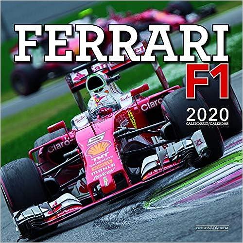 Ferrari F1 2020 Wall Calendar