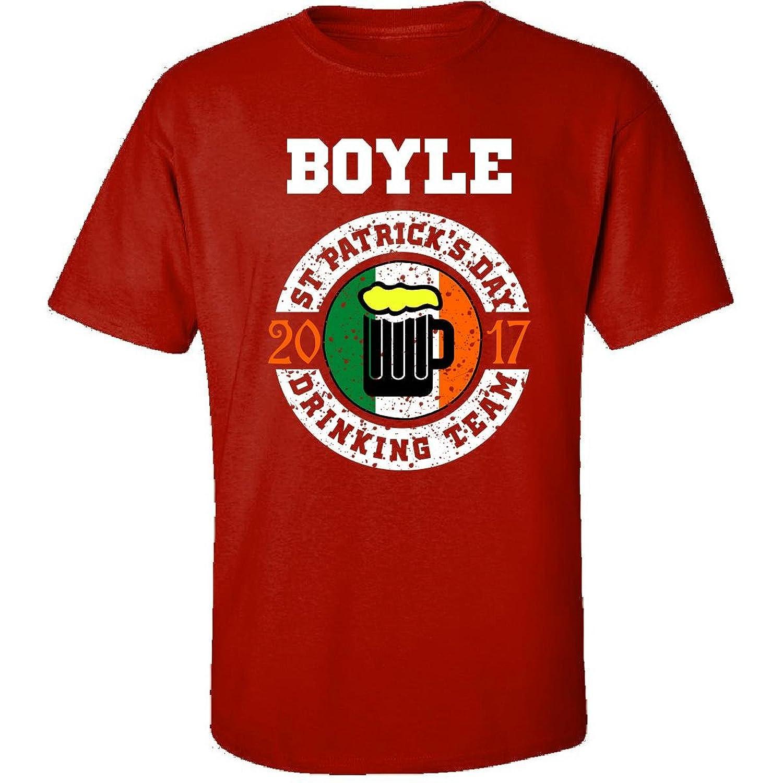 St Patricks Day Boyle 2017 Drinking Team Irish - Adult Shirt