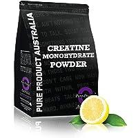 Pure Product Australia Creatine Monohydrate Powder, Lemon 1 kilograms