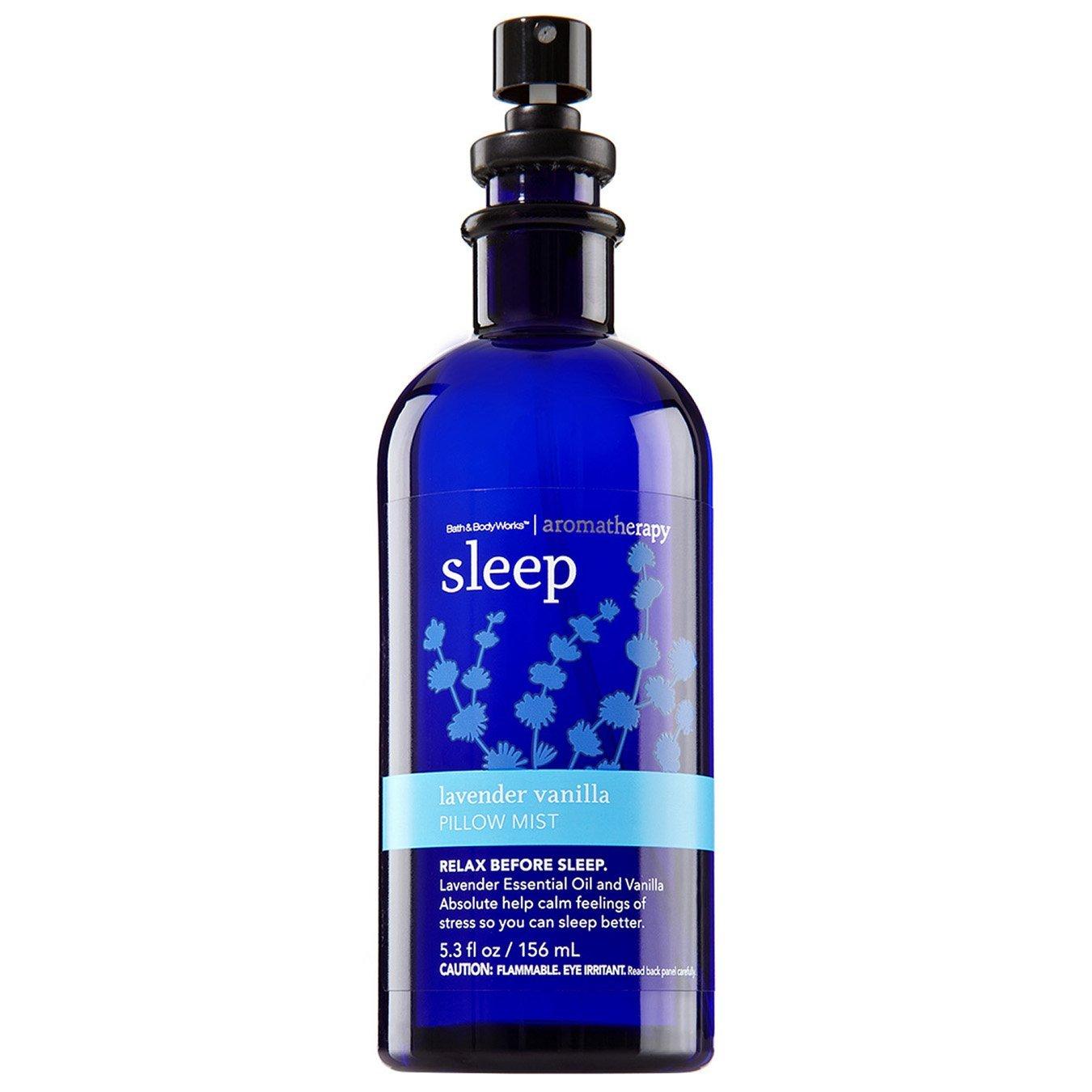 Bath and Body Works Aromatherapy Sleep Lavender Vanilla Pillow Mist 5.3 fl oz Original Retired Fragrance