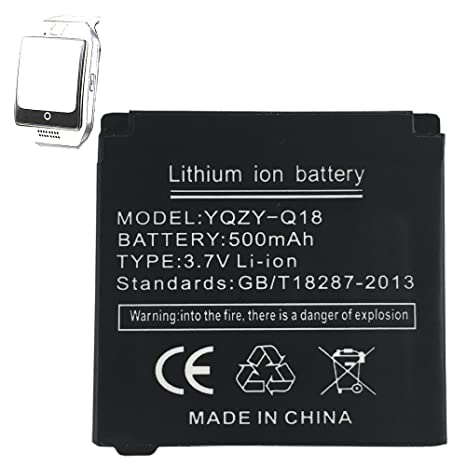 Haute performance Smart Watch Batterie pour Q18 Smart Watch