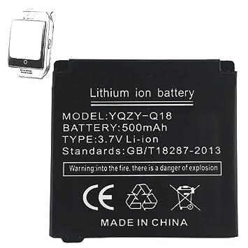 Haute performance Smart Watch Batterie pour Q18 Smart Watch