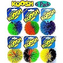 Koosh Balls Multi-Color Gift Set Bundle - 6 Pack