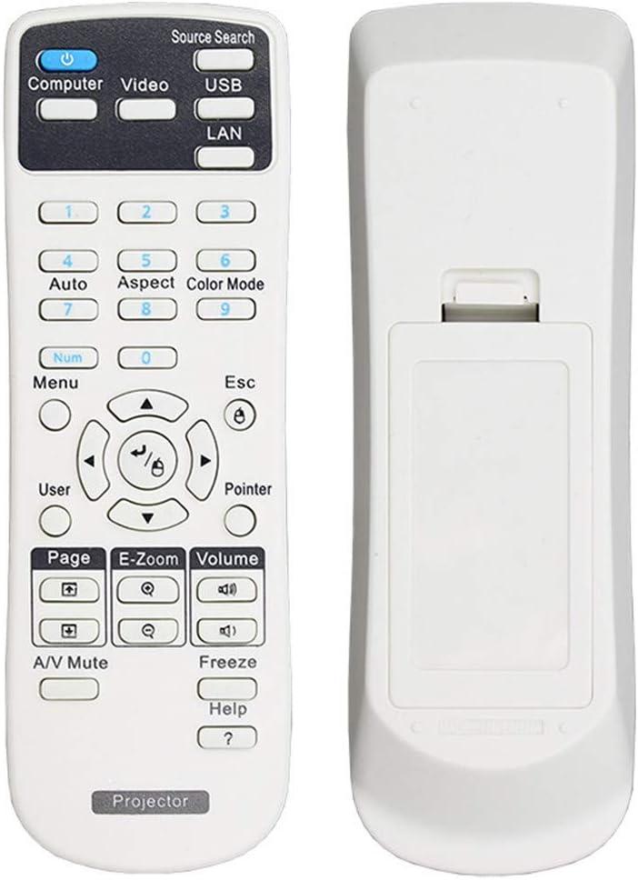 EWO'S Universal Projector Remote Control for Epson Home Cinema, Powerlite, EB-, EX, VS, H, BrightLink, EMP- Series Projectors. (Specific Model Reference Description)
