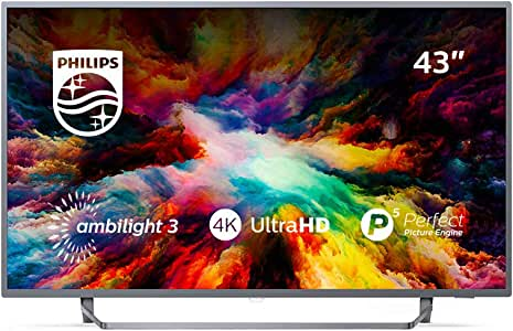Philips 7300 Series Televisor 4K Ultraplano con Tecnología Android ...
