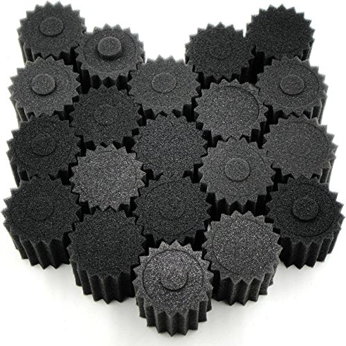 20pcs 1/8 RC Nitro Engine Buggy Air Dust Filter External Sponges Accessories