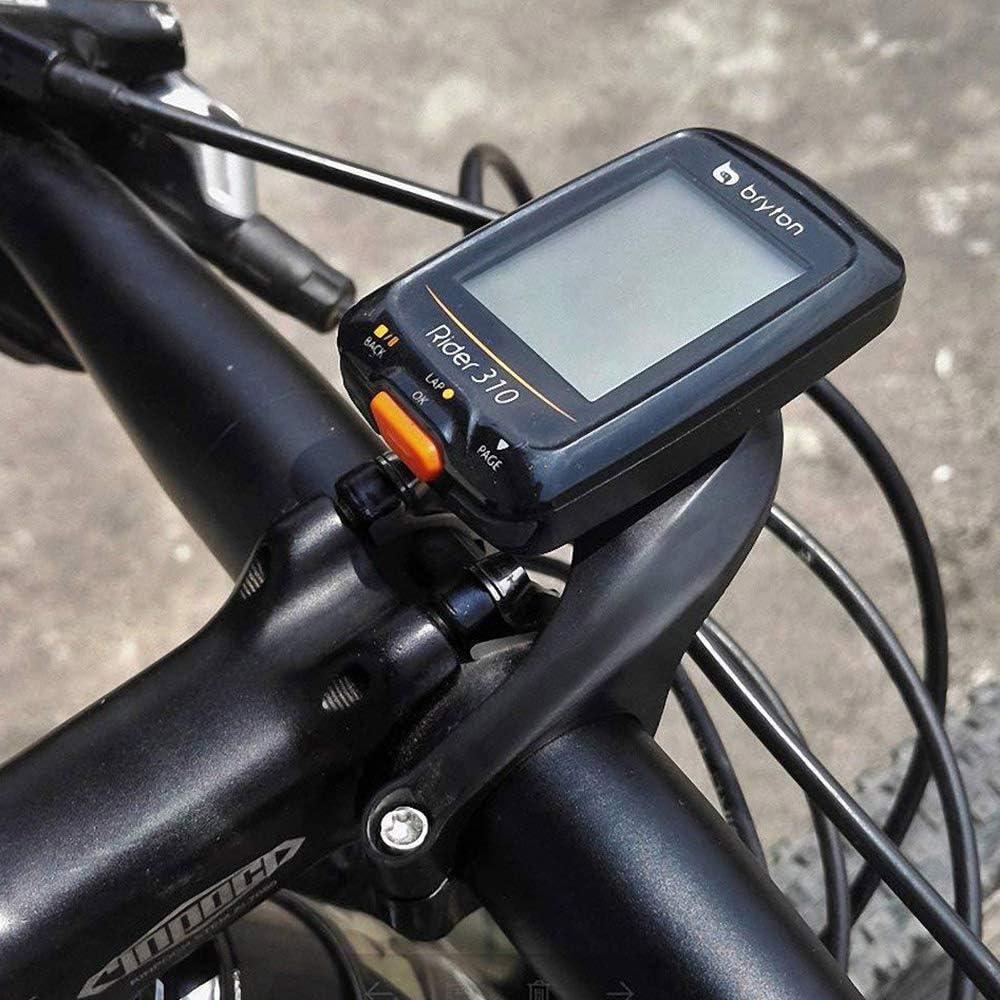 40 30 800 and Bryton Rider 20 YAKAON Support de Guidon Support de Compteur v/élo GPS 31,8 mm pour Garmin Edge 200 500