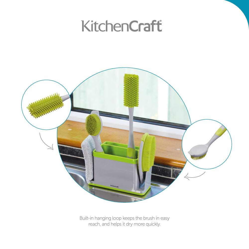 grau//gr/ün One Size Kitchen Craft Schrubben B/ürste