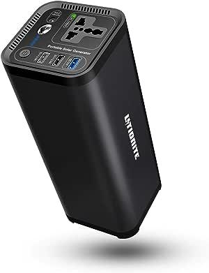 Litionite Hurakan 120W / 41600mAh Power Bank/Batería Externa/Mini Generador de energía portátil electrico - 1x AC Toma de Corriente - 3X USB - Cargador para Smartphone/Notebook/Ordenador/CPAP/Drone