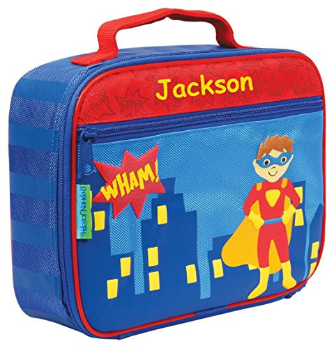 Personalized Stephen Joseph Superhero Themed Lunch Box With Name