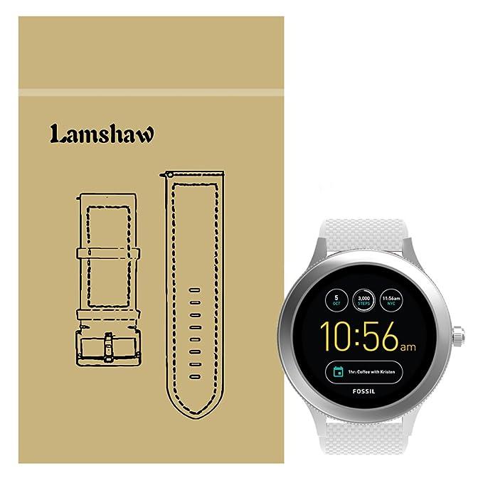 lamshaw fósiles Q Venture Smartwatch banda, nueva silicona ...
