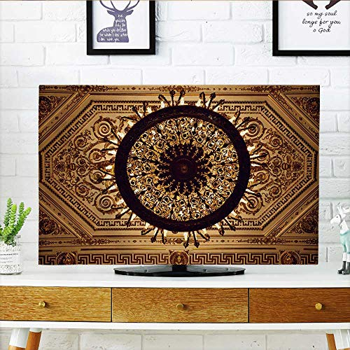 Philiphome tv Protective Cover Chandelier Hang Under a ceil in a Palace tv Protective Cover W30 x H50 INCH/TV 52