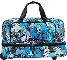 Vera Bradley Luggage Women s Lighten Up Wheeled Carry-on Camofloral Luggage 336fa097ab